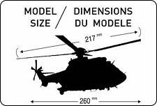 Heller 1 72 AS332 M1 Súper Puma Helicóptero kit de modelismo