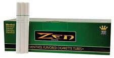 Zen Menthol 100mm Cigarette Tubes 200 Count Per Box (1-Box)