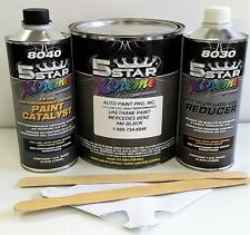 Low VOC high performance MERCEDES BLACK 040 urethane auto paint single stage