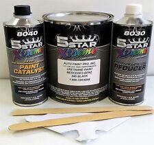 Low Voc high performance Mercedes Black 040 urethane auto paint single stage