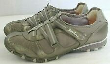 Skechers Women Casual/Athletic Shoes Size 7.5 Medium Gray Synthetic/Leather Upp