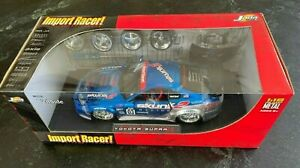 JADA 1:18 Import Racer Toyota Supra Diecast Blue Skunk 2 Race VeilSide 63354 NEW