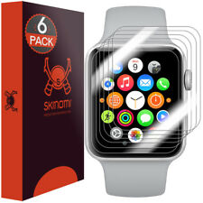 Skinomi TechSkin Clear Film Screen Protector Apple Watch Series 3/2/1,Nike+ 38mm