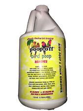 1 Gal Poop Off Bird Safe Enzymatic Bird Poop Remover Refill for Bird CagesSealed