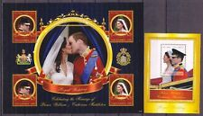 Gambia 2011 Hochzeit William & Kate 1 Kleinbogen und 1 Block ** MNH
