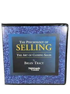 Brian Tracy-The Psychology Of Selling-The Art Of Closing Sales-7 CD set-Business