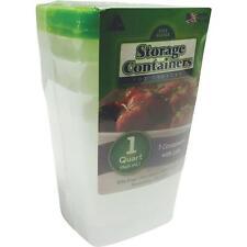 Freezer Storage Containers Boxes Quart Size 12-3Pks