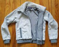 Patagonia Girls Los Gatos Hoody Fleece Jacket Light Weight Khaki SZXL 14-16(b11)