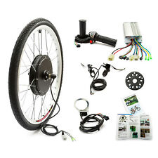 Electric Bicycle Front Wheel Conversion Kit 48v 1000w 26'' Wheel Bike Bicycle