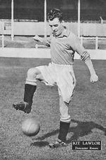 Foto De Fútbol Doncaster Rovers 1950s > Kit Lawlor