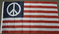 3X5 USA AMERICAN PEACE SIGN FLAG US BANNER NEW F406
