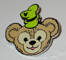 2013 Hidden Mickey DUFFY BEAR HATS Goofy Green Disney Pin Authentic WDW