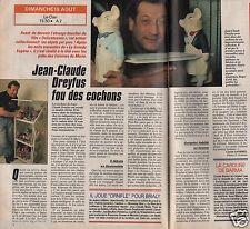 Coupure de presse Clipping 1991 Jean Claude Dreyfus  (1 page 1/2)