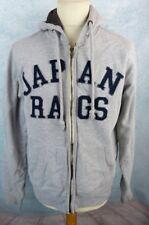 JAPAN RAGS Veste Homme Taille XL - Capuche - Zipp - Grise