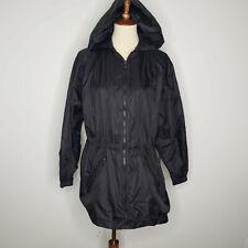 New Woman/'s Shed Rain  Polyvinyl Rain Coat White SZ Small