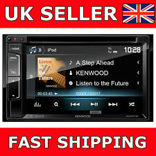 "Kenwood DDX-317BT Car CD DVD Double Din Car Stereo Bluetooth iPhone 6.2"" Screen"