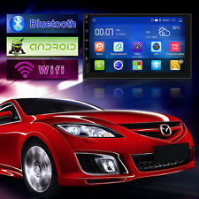 """7""""Android 5.1 Quad Core Car GPS Stereo WiFi +Camera Bluetooth HD"""