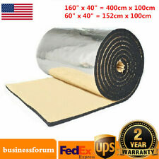 Car Auto Sound Proofing Deadening Heat Shield Insulation Noise Material Mat USA