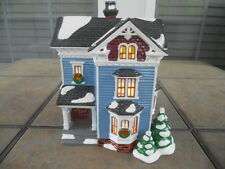 '94 Department 56 Snow Village Glenhaven House, Lighted, Retired '97, Used w/Box
