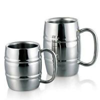 350/550ML Stainless Steel Double Wall Insulated Coffee Mug Beer Cup Tumblers