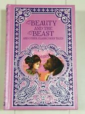 Beauty and the Beast & Other Classic Fairy Tales Book B&N Hardcover Leather