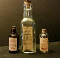 3...Vintage Style = ..Cannabis.. Medicine Bottles..By Artist...Great Gift