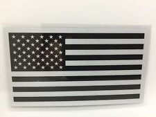 Subdued USA American Flag Vinyl Window Sticker Decal Reflective Ships Free