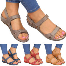 Womens Ladies Stylish Orthopedic Open Toe Sandals Summer Beach Casual Shoes Size