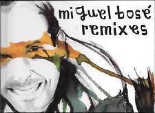 """MIGUEL BOSE' - RARO CD + LIBRO """" REMIXES """""""