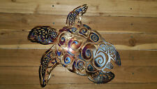 "Sea Turtle Wall Art 18"" wide hand made in waco tx home decor"