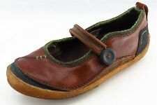 Merrell Size 7 Medium (B, M) Brown Mary Janes Shoes Leather Women