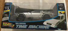 "New ListingDeLorean Back to the Future 2 ""Fly Mode"" - 1:24 Diecast Model Car Welly Nib"
