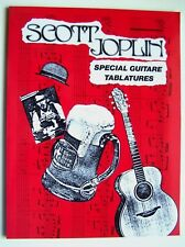 SCOTT JOPLIN - SPECIAL GUITARE TABLATURES - LIVRE NEUF DESTOCKE -
