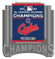 2020 CHICAGO CUBS NATIONAL LEAGUE PIN CENTRAL DIVISION CHAMPIONS WORLD SERIES?