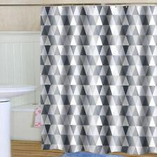Mosaic Geometric Bath Curtain Waterproof Polyester Bathroom Shower Curtain