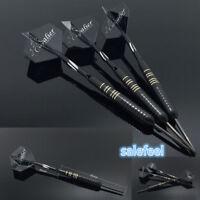 23g 3PCS 8.5mm Pack Professional Dart Set Steel Tip Darts Shafts Flights Box