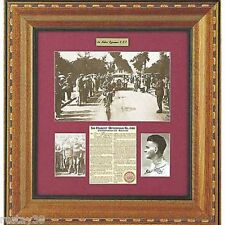 SIR HUBERT OPPERMAN HAND SIGNED LIMITED EDITION COLLAGE TOUR DE FRANCE CADEL