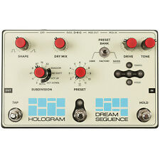 Hologram Electronics Dream Sequence Programmable Rhythm & Octave Generator Pedal