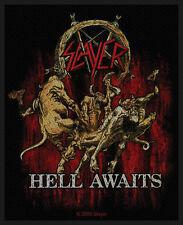 Slayer - Hell Awaits Patch Aufnäher Thrash Metal Heavy Kutte Tom Araya Rock NEU