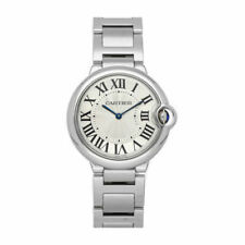 Cartier Ballon Bleu Silver Unisex Adult Watch - W69011Z4