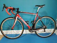 Specialized Tarmac S-Works Dura-Ace Carbon Fact is 11r Road Bike.