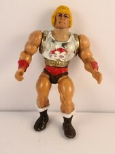 HE-MAN Flying Fists figure Master of the Universe 1986 Loose VTG Toy