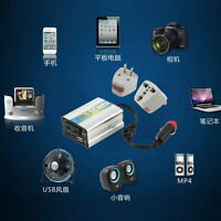 12V DC to AC 220V Car Auto Power Inverter Converter Adapter Adaptor 200W USB BE