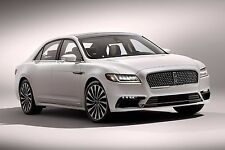 2017 LINCOLN CONTINENTAL POSTER 24 X 36 INCH