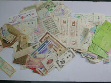 1950-2000s  China Commodity purchase ticket--lot 2400  more different