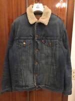 LEVIS SHERPA JACKET SAMPLE LARGE L work vintage wear heritage coat carhartt