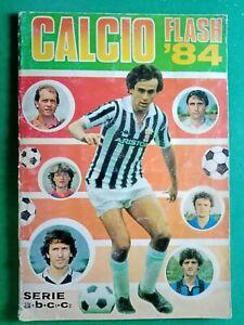 ALBUM CALCIATORI  EDIZIONE FLASH CALCIO 84 , PERFETTO COMPLETISSIMO - RIF.383