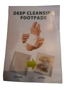 Deep Cleansing/DETOX Foot Pads..1 pack..6 pads in this pack.. VGC..