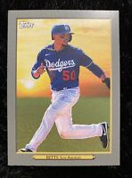 2020 TOPPS UPDATE MOOKIE BETTS LOS ANGELES DODGERS TURKEY RED CARD TR-5