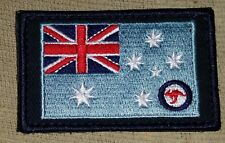 FLAG PATCH AUSTRALIAN AIR FORCE RAAF BLUE or CAMO ENSIGN